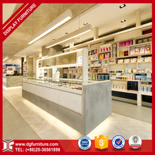 Hot Sale Fashional Display Cabinet Display Showcase for Cosmetic Shop Interior Design