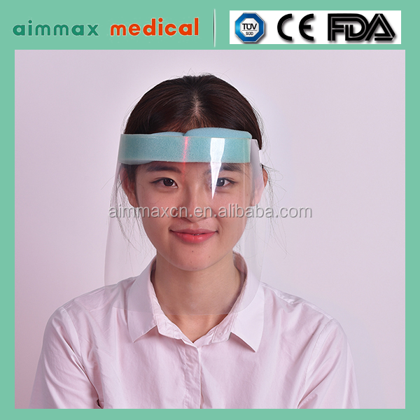 clear film anti fog medical use Face Shield Mask