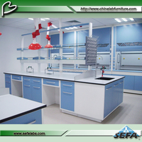 Biotechnology laboratory furniture/resin table top workbench/medical workbench