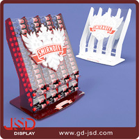 China supplier OEM sample advertising product free/ floor standing acrylic display,beverage display fixtures