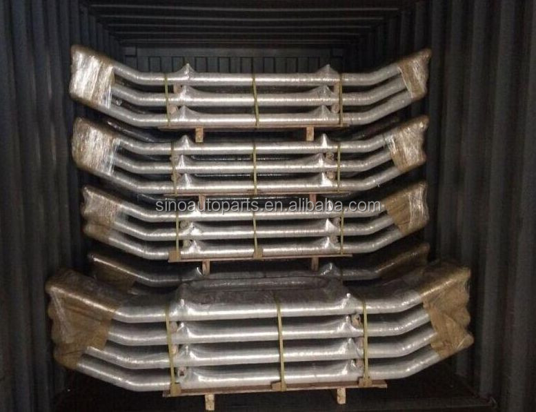 304 stainless steel Bull Bars For PETERBILT 358/387 Truck Deer Guard