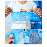 Machine made disposable CPE shoe cover