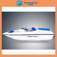 china factory sale 6 seats double engined jet boat sales