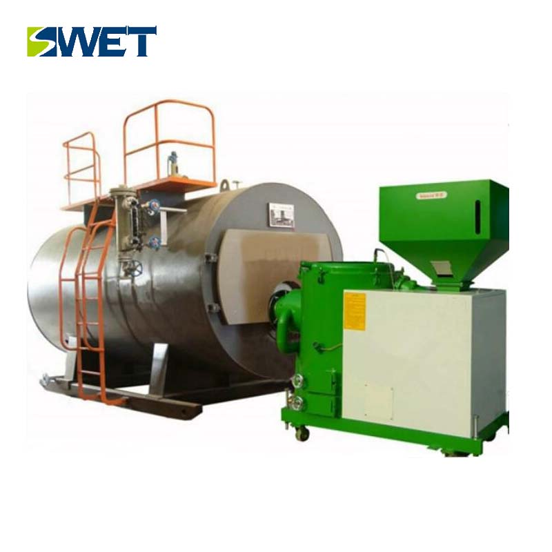 new type mini hot sale 1 t / h wood pellet industrial steam burner