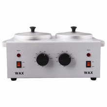 BIN prof.High Quality Double Pot Wax heater Wax Warmer