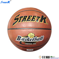 streetk brand PU laminated leather basket ball
