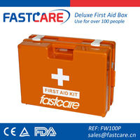 plastic wall mounted first aid boxes