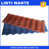 Excellent heat resistance 95% roofing material stone coated roof tile