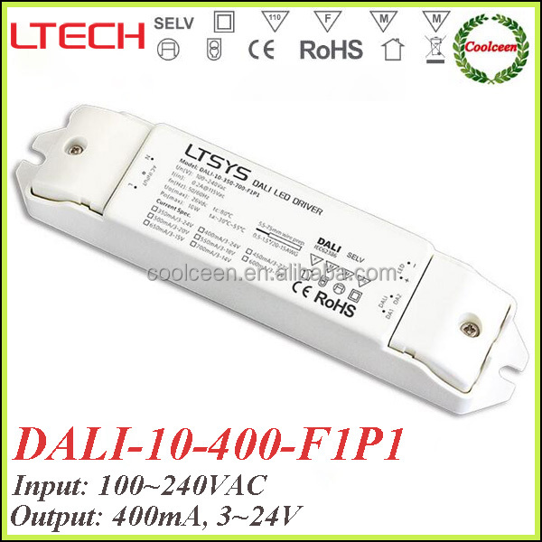 LTECH DALI-10-400-F1P1 400ma indoor dimming led driver