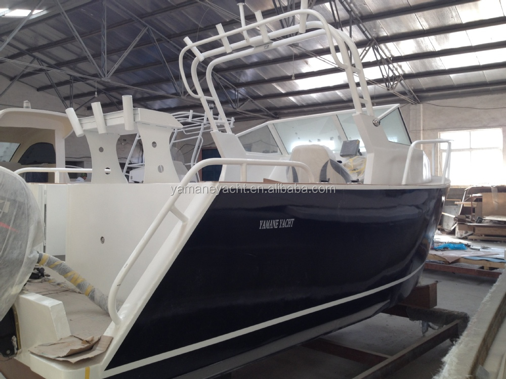 19ft aluminum cuddy cabin speed sport fishing boat for for Aluminum boat with cabin for sale
