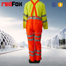 reflective safety esd cleanroom smock/esd coverall