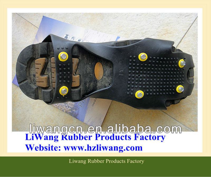 Ice And Snow Foot Grips Safety Shoes/safty shoes cover /Anti-Slip Snow Shoes Grips/Non-slip