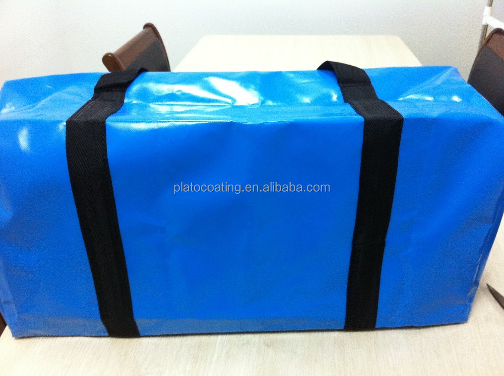 colorful waterproof tarpaulin bag material