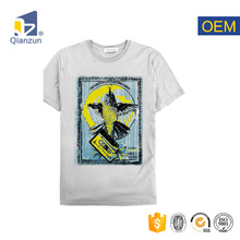 100% cotton latest mens t shirt with flora pocket