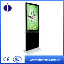 Floor Standing Indoor Electronic Hotel Loop Video Android led/Lcd Advertising Display Screen