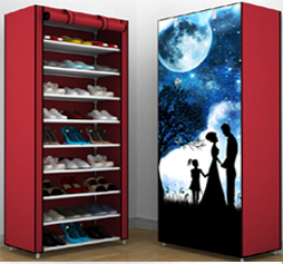 non--woven fabric waterproof shoe storage cabinet