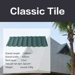 High quality faroe Islandsmetal roof tiles / sand coated metal roofing tiles