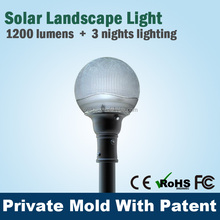 Professional outdoor garden solar led lamp high pressure cleaning equipment