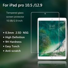 New Arrival ! 2017 Best selling tablet accessories for iPad pro 10.5 inch , Tempered glass screen protector for New iPad Pro