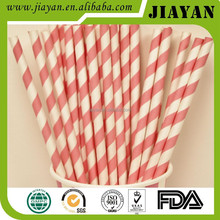 2017 hot sale kinds of colorful paper drinking straws