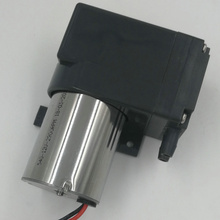 Low flow electrical driven diaphragm circulating car tyre air pump