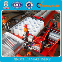 7-8 T/D 2400mm high speed toilet tissue paper making machine, raw material: waste paper, virgin pulp, cellulose