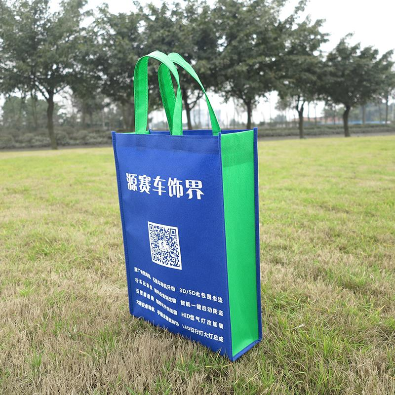 rpet hot promotional item shopping non woven pp zipper bag