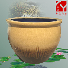 EXW price for round ceramics fish tank