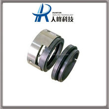 Double lip o-ring burgmann water pump mechanical seal