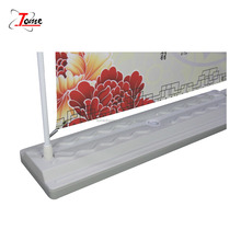 Metal branch Adjustable stand Promotional price Aluminum Alloy water base display LGate banner