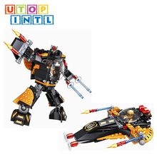 hot selling eco friendly plastic blocks robots child toy for sale