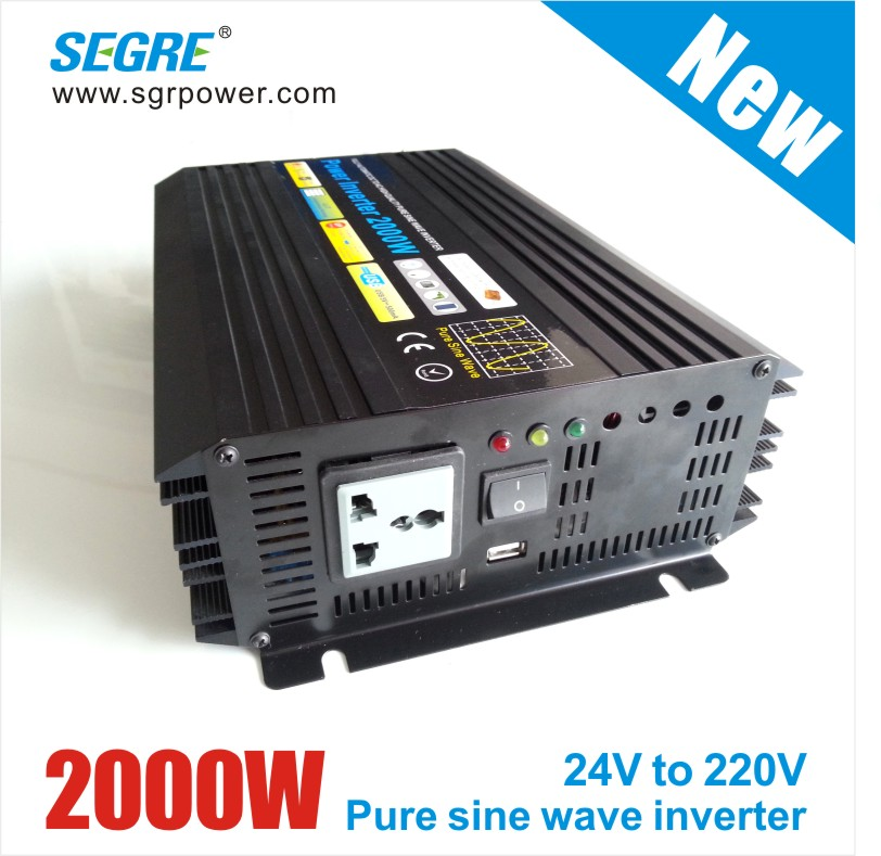 off grid solar inverter high quality pure sine wave 2000W dc/ac power inverter