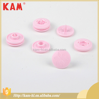 High quality durable garment pink plastic snap fasteners