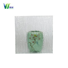 Translucent opaque decorative bathroom tempered glass Embossed glass/Figured glass