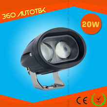 4D 20w led work lamp 12v led work light auto car accessories