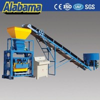 Over 20 years famous brand concrete brick making machine