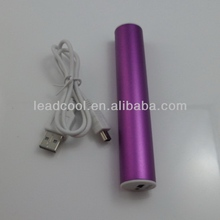 Multi rechargeable 2600mah portable mobile powerbank