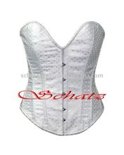 Pakistan White Polka Dot Women's Sexy Corset