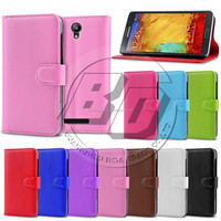 Factory Price Litchi Wallet PU Leather Case Cover For Samsung Galaxy Note 3 Litchi Pattern with Credit ID Card Holder