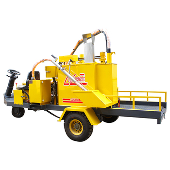 electric motor asphalt sealing pumping repairing sealant trailing type road crack repair products