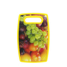 Fruit cutting durable pp cheese yellow kitchenware fruits chopping board