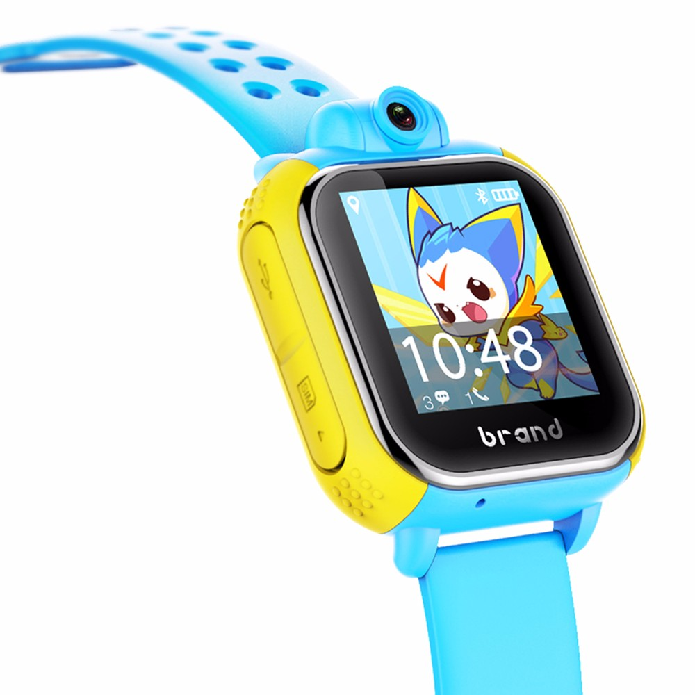 Exporter Andriod G75 Smart Baby Watch Kids Smartwatch Android GPS Tracker Watch For Children SOS Wearable