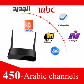 Arabic Iptv Box Internet TV Iptv Set Top Box Price 2 Years Iptv 500+ Channels