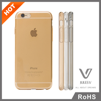 High quality durable transparent soft TPU mobile phone cover , soft tpu mobile phone case for iphone 6,6s,6 plus
