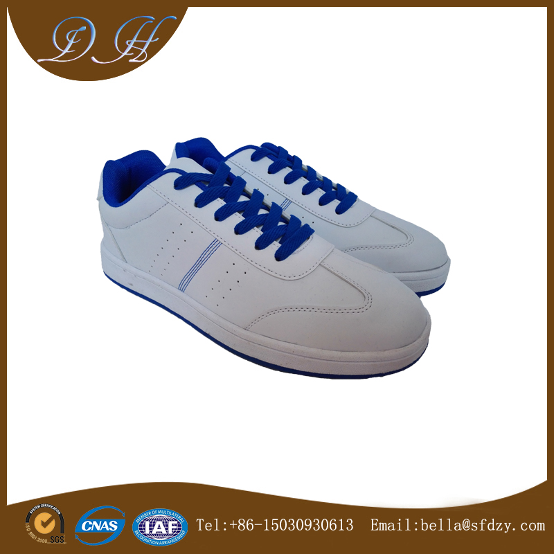 wholesale cheap PU upper material man footwear