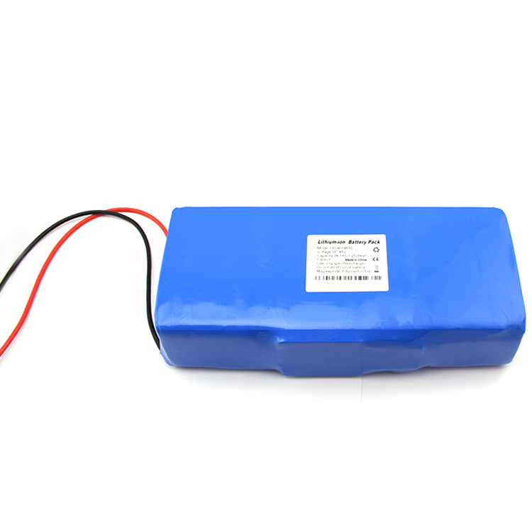 13S4P Rechargeable 48v 10.4ah li ion electric bike battery pack