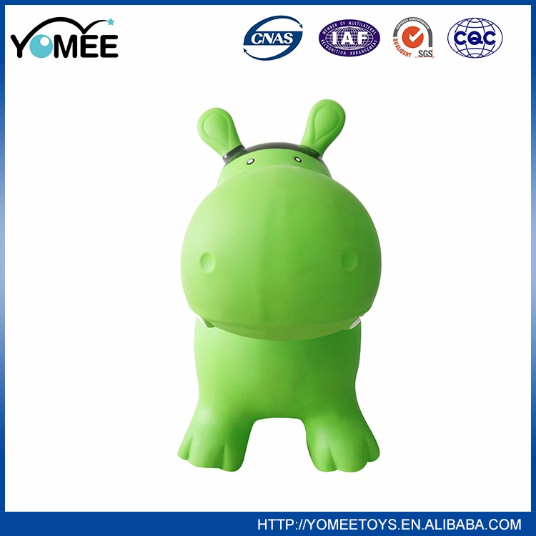 China hot sale skip ball funny toy for child inflatable hopper animals