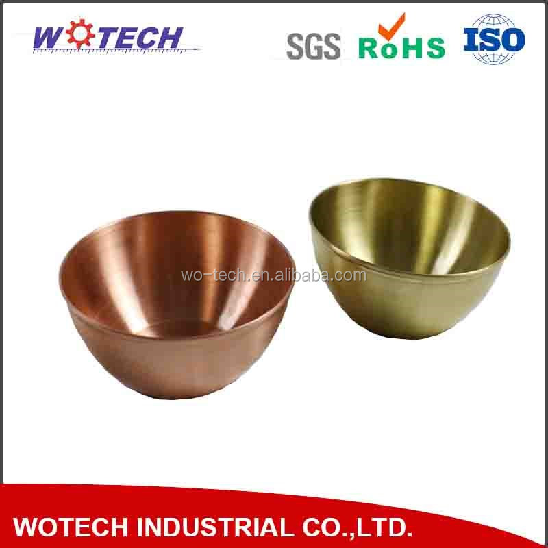 OEM brass spinning parts
