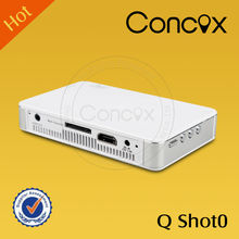 Concox Q Shot0 business partner good help on business trip mini projector