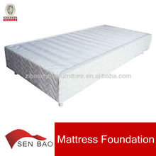 Simple assembly plywood mattress foundation box spring factory